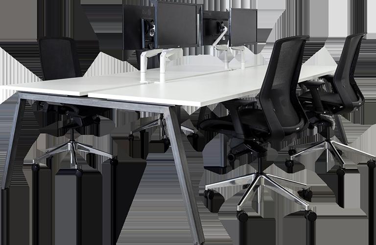 A-frame Desking