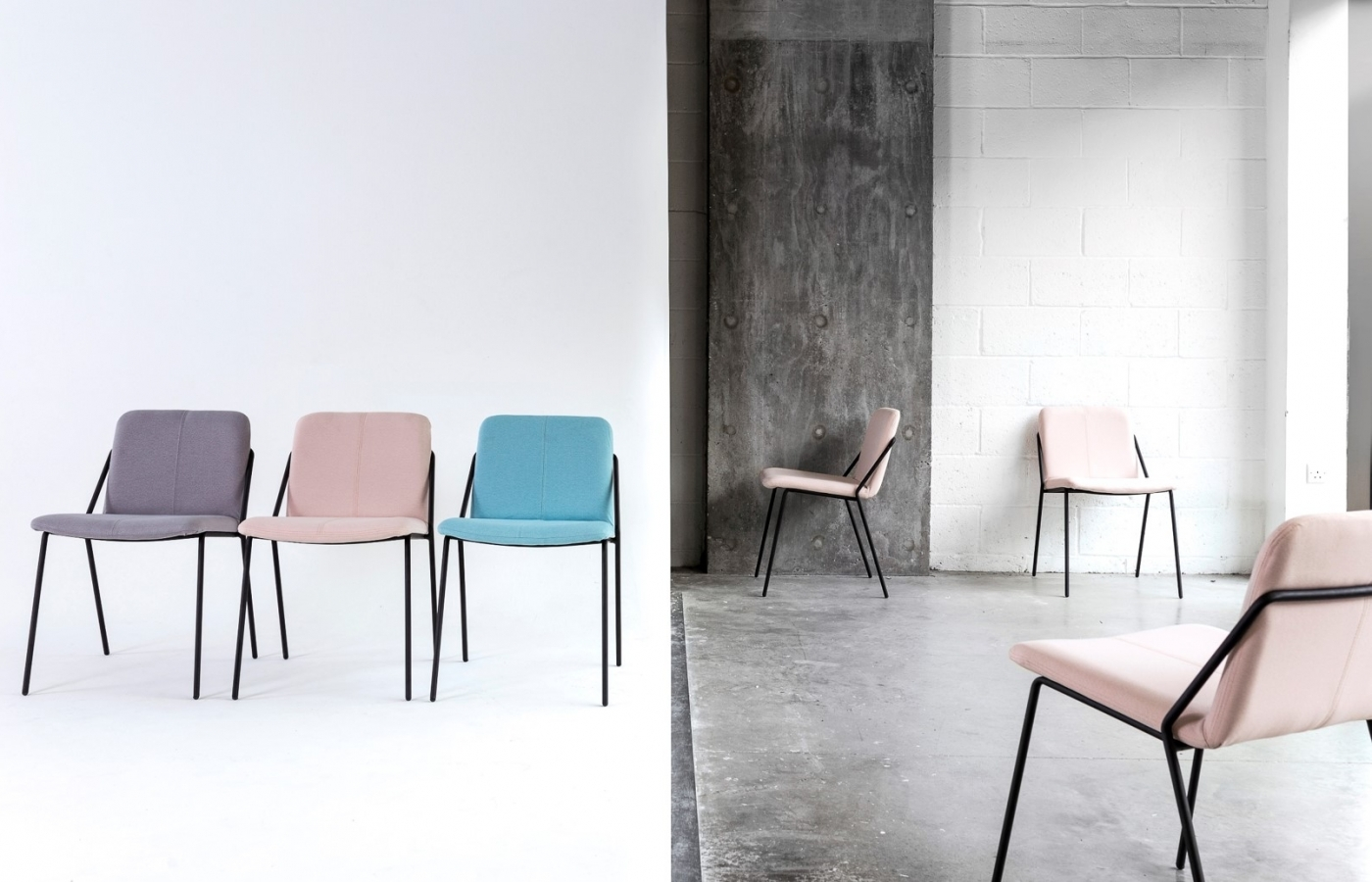 Terrific Sling Side Chair Products Workstories Download Free Architecture Designs Rallybritishbridgeorg